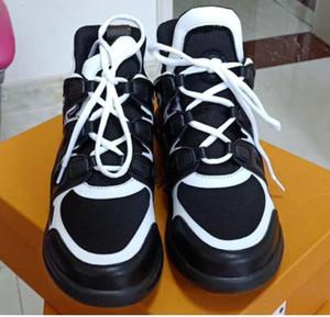 Donna traspirante Nuovo reale pelle traspirante scarpe moda casual sport atletico piatto scarpe antiscivolo design di lusso SNEAKERS kh458