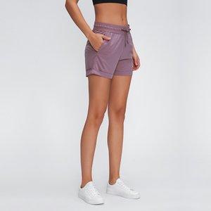 مشد 2020 الجديدة السراويل المنسوجة اليوغا المرأة تعادل مع واسعة فضفاضة فضفاضة تنفس بلون تشغيل الرياضية السراويل الساخنة