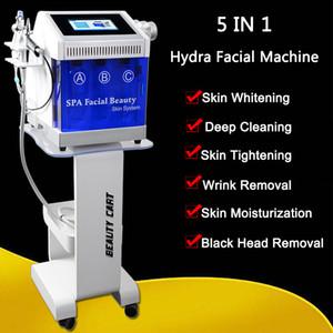US tecnologia Hydro microdermabrasio Hydra macchina facciale di PDT LED 7 colori BIO Microcurrent vuoto Pen Oxygen Spray Hydro dermoabrasione