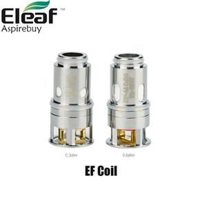 Eleaf EF Coil EF-M 0.6ohm EF 0.3ohm Замена катушки Eleaf Pesso Катушка для Pesso Tank Атомайзер 3шт / уп 100% оригинал