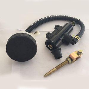 048 Motosiklet Genel Modifiye Arka Fren Siyah Pompası Seti Çap Disk Fren 0.36kg arttırın