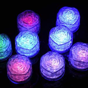 ارتفع شكل أضواء مكعب حزب الجليد حزب ليلة ضوء وامض بطيئة قاد الحزب يوم مصباح كريستال مكعب الحب