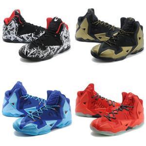 2019 신입생 Lebron 11 XI shoes 부활절 BHM 크리스마스 블루 MVP 챔피언십 블랙 실버 스니커즈
