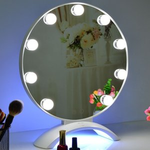Hollywood Led Vanity light makeup mirror with UV lights Nail dryer beauty cosmetic tools