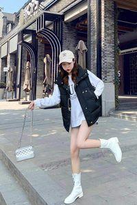 Torna Stagione Speciali di vendita di cotone imbottito Abbigliamento Donna 2019 Cotton Donna Facile Pane Short Serve una marea
