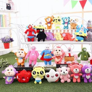 Stuffed Animals plus regalo dei capretti peluche del fumetto Giocattoli Smeshariki animali farciti Hedgehog Kikoriki Nyushenka Pandochka peluche