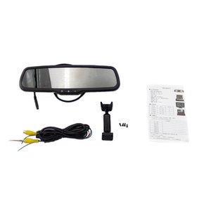4.3 inch HD 800X480 Car Video Player Interior Rear View Mirror Replacement Monitor For Car Rear View Camera Parking