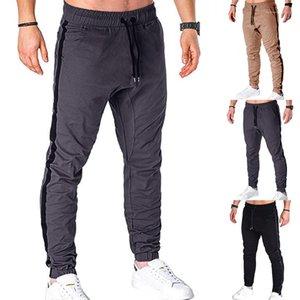 Cargo matita Homme Abbigliamento Estate correnti casuali capi di Mens del progettista dei pantaloni di sport Solido Fashion Color coulisse
