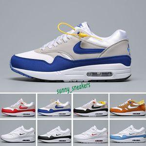 Nike Air Max 1 2019 nuova 87 Atmos ANGURIA 87 ° Anniversario 1 Piet Parra 87 mens lunare 1 DELUXE scarpe da corsa all'ingrosso aria Premium scarpa da tennis 36-45 S98