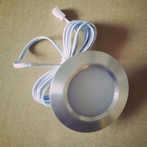 12V 3W LED de la lámpara del techo del downlight empotrada llevó el punto ligero de aluminio frío caliente blanco abajo del muro de la luz del gabinete decoración para el hogar