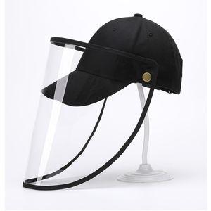 Unisex Oklüzyon kask Şapka Anti Açık Emniyet Caps Şapka Koruyucu Yüz Anti-tükürmek Windproof Biker Sürüş Şapkalar