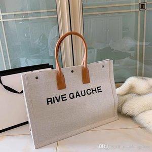 diseñador del monedero del bolso de lujo bolso Y de la lona de las señoras de material bolsa de compras Moda totalizadores del bolso monedero del diseñador