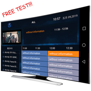 FULL HD 4k smartertv monde Sports Europe USA Latino Canada Italie polonais au Royaume-Uni Allemagne arabe pour Android x96 TX3 mini smart tv