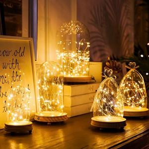 Decoraciones de Navidad Adornos de Navidad Garland de Navidad Craft Light regalos de Año Nuevo Feliz Navidad para el hogar Luz de Navidad árbol de Nueva
