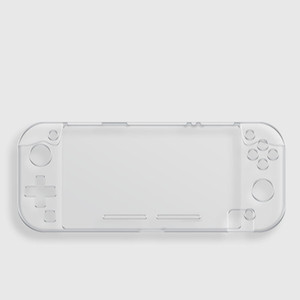الواقي clear Case For Nintendo Switch Lite Cover Transparent Crystal plastic Anti-scratch Console Handle Gamepad Shell Cases