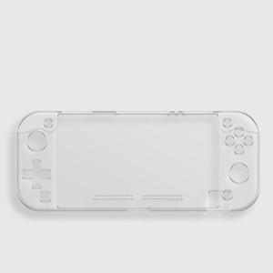 De protection clear Case Pour Nintendo Commutateur Lite Couverture Transparent Cristal En Plastique Anti-scratch Console poignée Gamepad Shell Cas
