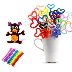 Urijk 10pcs set Educational Toys Creative Children Puzzle Twist Stick Children Toy Animal Kindergarten Handmade Material