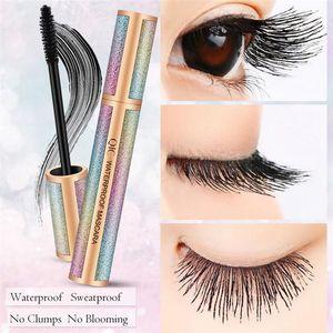 Süper İnce 3D Sıvı Eyeliner Dövme Kalem No Fading Kalıcı QIC Starry Eyeliner Mat Siyah Renk 4D Uzun Maskara Su geçirmez Uzun