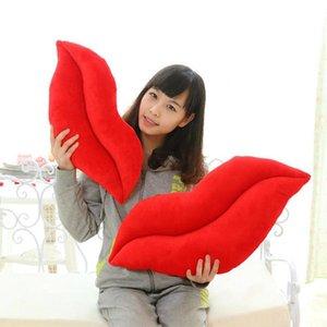 HobbyLane peluche douce lèvres en forme de Throw Coussin oreiller pour Girlfriend amant chambre d'oreiller
