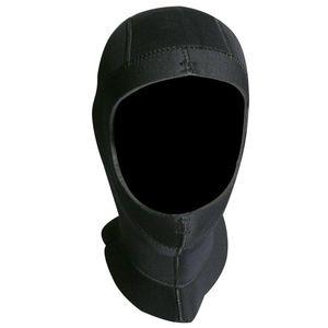 Slinx 5 мм неопрена подводное погружение утолщенные шапки капот шляпа согреться холодной доказательство зима плавать гидрокостюм гидрокостюм оборудование