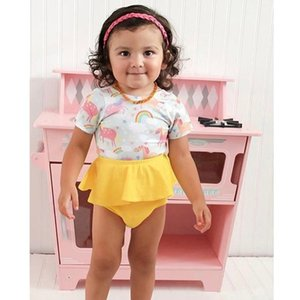 Newborn PP Panties Toddler Infant Baby Kid Girl Short Pants Floral Print Bottoms Bloomers Ruffled Panties For Girls Wholesale