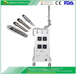 Vertical Radio Frequency Fractional Laser CO2 Crease &Fleck Removal Stretch Mark Dark Circle Dissolving Machine with RF Metal Tube