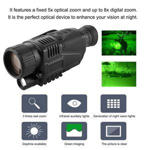 Frete grátis FS99 Digital IR Night Vision Infrared IR Monocular filmadora Função Telescópio Video Recorder