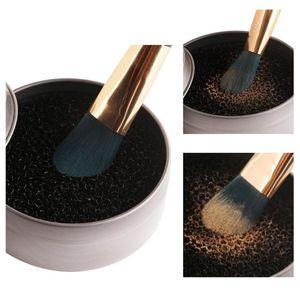 MAANGE 1 pc Maquillage Brosses Cleaner éponge Remover couleur off Make Up Brosse À Laver Tapis De Nettoyage boîte beauté Outils Accessoires Nouveau