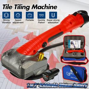Портативный вибратор плитки для 80x80cm плитки пол штукатурка машина Укладка плитки автоматический вибратор пола выравнивающий инструмент с батареей
