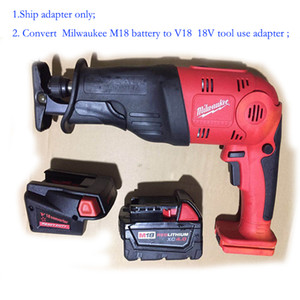 battery adapter convert M18 to V18 18V tool usage