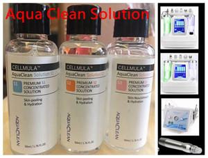 Aqua Clean Solution / Aqua Peel Solution concentrée 50 ml par bouteille Aqua visage Sérum Hydra dermabrasion Sérum visage pour peau normale Soins