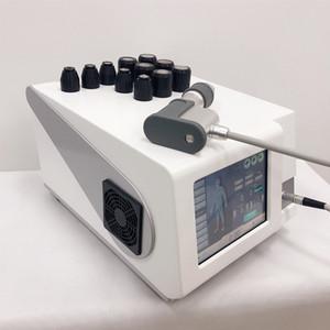 máquina de terapia por ondas de choque extracorpórea pneumática para o alívio da dor do corpo de terceira geração design, leve, mas poderoso, durável e inteligente