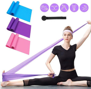 1.2m Yoga Thick Elastic Band Women Men Excesice Thickening Fitness Belt Tension Yoga Stretch with Resistance Bands