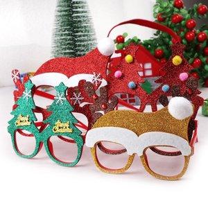 100шт Новогодние украшения для декора дома Новый год Бокалы Подарки для детей Санта-Клаус оленей Снеговик рождественские украшения Random