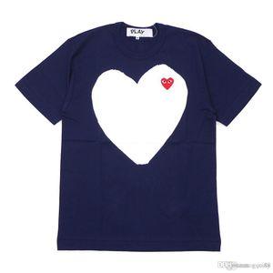 18SS C-D-G tee Mens designer maglietta Commes cotone off sport t-shirt bianche des Garçons T-shirt per vetements sumer