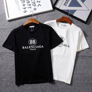 20ss di lusso degli uomini T-shirt Lettera Stampa Top Parigi Stella Streetwear T-shirt Hip Hop Kanye alta qualità degli uomini vestiti di cotone Tee YLF613