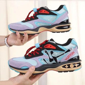 Fast Delivery Mens Shoes Lightweight Luxury Luxury Comfortable Casual Chunky Sneakers Plus Size Lace-up Sports Men Shoes Scarpe da uomo mk05