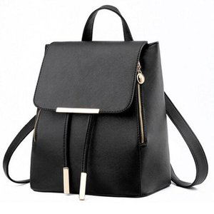 Fashion Women Backpack PU Leather Female Knapsack Teenager School Bag Mochila Feminina Bags Lady Rucksack Outdoor Bags Sac A Dos