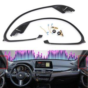 تغطية مكبر الصوت للحصول على سيارة F47 F48 سلسلة X1 باب مكبر الصوت غطاء ملصق تقليم مع لوحة تقليم كلها بوق الصوت ثلاثة أضعاف رئيس