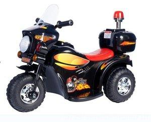 envío libre 2016 nuevos niños de la motocicleta eléctrica con luces multicolor Bicicletas batería del coche eléctrico de tres ruedas Escarabajo Correpasillos Deportes Ou