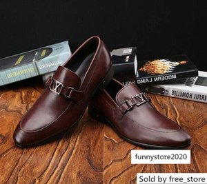 Brown business guan Men Dress shoes BOOTS LOAFERS DRIVERS BUCKLES SNEAKERS SANDALS