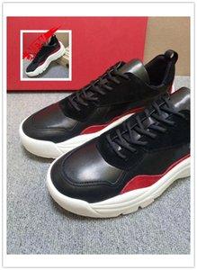 Qhick Sole Shoes Casual Luxury DQSQGN Gumboy Calfskin Sneaker Leather Big Size High Quality Mens Fashion Shoes Scarpe da uomo Drop Ship Q50