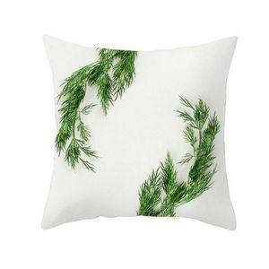 Nova lavável Tropical plantas tropicais Fronha de decoração Para Casa poliéster fronha Impressão Capa sem Travesseiro