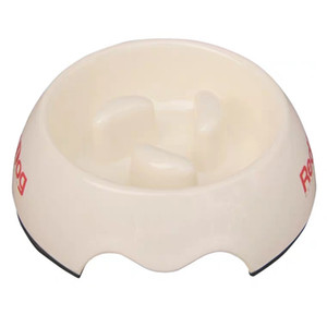 martha stewart slow feeder pet bowl pet product melamine dog bowl heat-resistant pets pot slow down eating drinking feeding pet tool