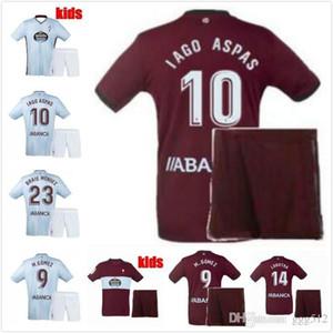 2019 2020 RC Celta de Vigo Crianças de Futebol define Fatos Celta M.GOMES Iago Aspas casa longe camisa 19 20 meninos de futebol