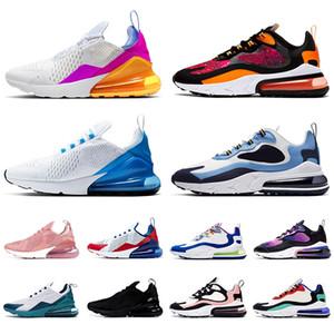 nike air max 270 react STOCK X airmax 270 vans off white TOP QUALITÉ 2020 hommes femmes EPIC Marque baskets de course des chaussures de plein air Pastel SAFARI designer formateurs