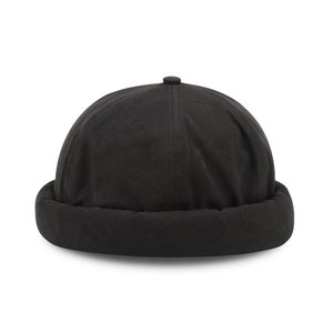 Short Beanies for Men Unisex Men Band Point Skullcap Watch Cap Docker Hat Women Pumpkin Hat Hiphop Vintage Korean Sailor Cap