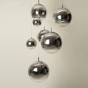 Nordic Led Lampada a sospensione Personalità creativa Moderna palla di vetro Lampada a sospensione Bar Camera da letto Comodino Soggiorno Lampada a sospensione