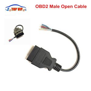 10PCS / 많은 16 핀 확장 오픈 케이블 여성 / 남성 OBD2 자동차 진단 커넥터 변환기 OBD2 열기 케이블 어댑터