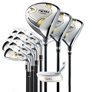 I nuovi uomini di golf club HONMA U100 set completo di mazze da golf in legno ferro Putter Golf set e la borsa club Pozzo della grafite di trasporto